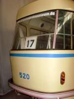 Museumsdepot Mockern/162705/tatra-beiwagen-520-linie-17 Tatra-Beiwagen 520 (Linie 17)