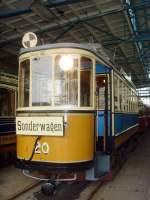 Museumsdepot Mockern/163223/tw-20-vor-der-naechsten-fahrt Tw 20 vor der nächsten fahrt im Depot