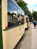 Woltersdorf/17944/ksw-zug-an-der-endstation-schleuse-2352009 KSW-Zug an der Endstation Schleuse, 23.5.2009
