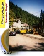 bad-schandau/123707/ausfahrt-aus-der-endstation-lichtenhainer-wasserfall Ausfahrt aus der Endstation Lichtenhainer Wasserfall, 1999