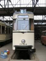 berlin/676/reko-triebwagen-im-bh-niederschoenhausen-2006 REKO-Triebwagen im Bh Niederschönhausen, 2006