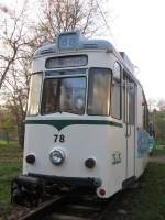 schoneiche-rudersdorfer-straba/1390/gotha-tw-78-der-ruedersdorfer-schoeneicher-strassenbahn-im-depot Gotha-Tw 78 der Rüdersdorfer-Schöneicher-Strassenbahn im Depot, 2006