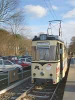 strausberg/42243/hist-reko-tw-der-strausberger-eisenbahn-am Hist. REKO-Tw der Strausberger Eisenbahn am Bhf Strausberg