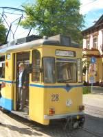 woltersdorf/18315/vor-der-rueckfahrt-nach-s-bhf-rahnsdorf Vor der Rückfahrt nach S-Bhf Rahnsdorf, 23.5.2009