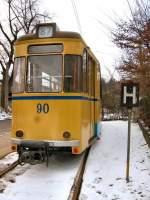 woltersdorf/4728/beiwagen-90-am-s-bhf-rahnsdorf-2006 Beiwagen 90 am S-Bhf. Rahnsdorf, 2006