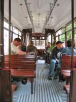 Berlin - Bw 1707/2019/unnenansicht---beiwagen-1707-waehrend-der Unnenansicht - Beiwagen 1707 während der Themenfahrt Sommer 2008