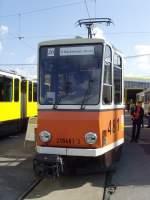 berlin---tatra-kt4d-481/34890/nicht-mod-kt4d-tw-auf-dem-bh Nicht mod. KT4D-Tw auf dem Bh Lichtenberg (Tag der offenen Tür Oktober 2009)