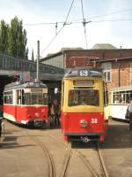 frankfort-oder-tw-38-lowa/16674/tw-38-im-alten-depot-bachgasse Tw 38 im alten Depot Bachgasse, 9. 5. 2009