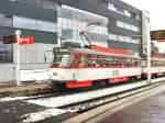 Halle - Tatra T4/47038/tw-1161-der-havag-am-hauptbahnhof Tw 1161 der HAVAG am Hauptbahnhof Halle/Saale - 23.12.2009