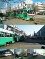 Magdeburg - T4/186395/strassenbahn-magdeburg-2012-mit-tatras Strassenbahn Magdeburg 2012 mit TATRAS