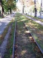 Naumburg -GOTHA Tw 38/155267/gleis-der-ehem-ringbahn-im-jahr Gleis der ehem Ringbahn im Jahr 2006