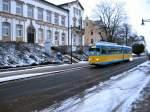 TWB Einrichtungswagen/1364/tw-324-auf-dem-weg-zum Tw 324 auf dem Weg zum Gothaer Hauptbahnhof, Winter 2006  http://altebahnen.startbilder.de/bilder/thumbs/tn_1364.jpg