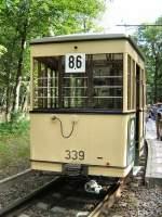 Berlin - Bw 339/293/hist-beiwagen-339-auf-einer-themenfahrt Hist. Beiwagen 339 auf einer Themenfahrt Sommer 2007