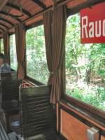 Berlin - Bw 808/17273/im-beiwagen-808-waehrend-der-fahrt Im Beiwagen 808 während der Fahrt nach Rahnsdorf, 10.5.2009