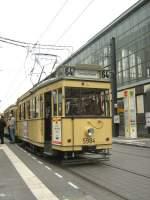 Berlin - Tw  5984/1719/tw-5984-am-alexanderplatz-berlin-themenfahrt Tw 5984 am Alexanderplatz BERLIN, Themenfahrt am 12. 10. 2008