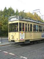 Berlin - Tw  5984/1826/tw-5984-in-berlin-am-steinberg Tw 5984 in Berlin, Am Steinberg - Themenfahrt 12.10.2008