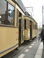 Berlin - Tw  5984/1832/hist-strassenbahnzug-t20-in-berlin-themenfahrt Hist. Strassenbahnzug T20 in Berlin, Themenfahrt 12.10.2008