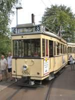 Berlin - Tw  5984/28428/tw-5984-mit-ziel-majlsdorf-sued Tw 5984 mit Ziel Majlsdorf Süd hat es sogar bis Mahlsdorf geschafft, der Endstelle der Linie, Berlin 9. August 2009