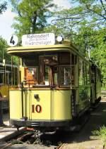 Berlin - Tw 10/17166/tw-10-vor-der-naechsten-fahrt Tw 10 vor der nächsten Fahrt nach Rahnsdorf (Waldschenke) 10.5.2009