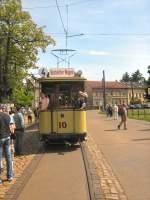 Berlin - Tw 10/17497/tw-10-in-alt-schmoeckwitz-uferbahn-1752009 Tw 10 in Alt-Schmöckwitz (Uferbahn) 17.5.2009