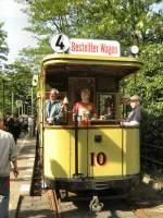 Berlin - Tw 10/17512/tw-10-bei-der-themenfahrt-am Tw 10 bei der Themenfahrt am 17.5.2009 in Friedrichshagen, Altes Wasserwerk 17.5.2009