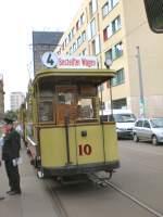 Berlin - Tw 10/26637/tw-10-in-der-schleife-am Tw 10 in der Schleife am Kupfergraben, Berlin Juli 2009