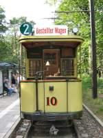 Berlin - Tw 10/531/blick-auf-tw-10-als-linie Blick auf Tw 10 als Linie 2, Themnfahrt in Berlin 2007