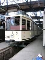 Berlin - Tw 3802/677/tw-3802-im-betriebshof-niederschoenhausen-2006 Tw 3802 im Betriebshof Niederschönhausen, 2006