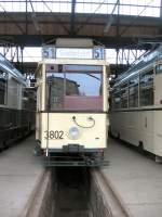 Berlin - Tw 3802/729/tw-3802-im-jahre-2006-im Tw 3802 im Jahre 2006 im Bh Niederschönhausen