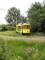 Cottbus Tw 24/19956/hist-strassenbahnzug-im-gruenen-schleife-sandow Hist. Strassenbahnzug im Grünen /Schleife Sandow) - 6.6.2009