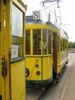 Cottbus Tw 24/20233/der-hist-strassenbahnzug-im-dauerregen-cottbus Der hist. Strassenbahnzug im Dauerregen, Cottbus 6.6.2009
