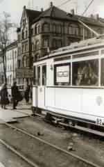 Erfurt - Tw 92/15053/tw-92-in-efurterfurt-am-alten Tw 92 in EfurtErfurt am alten Depot, um 1988