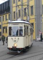 Erfurt - Tw 92/63153/tw-92-bei-einer-sonderfahrt-erfurt Tw 92 bei einer Sonderfahrt, Erfurt Anger 10.4.2010