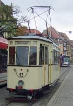 Erfurt - Tw 92/67572/tw-92-hst-domplatz-nord-erfurt Tw 92, Hst. Domplatz Nord, Erfurt 2010