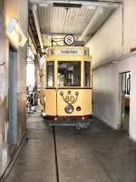 frankfurt-oder-tw-60/16546/tw-60-in-der-wagenhalle-und Tw 60  in der Wagenhalle und Werkstatt Altes Depot Bachgasse, 9.5.2009
