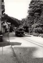 Tw 9 ex Lockwitztalbahn/116045/hist-tw-9-in-bad-schandau Hist. Tw 9 in Bad Schandau