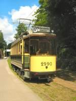 Woltersdorf Tw 2990/17878/tw-2990-in-der-morgensonne-vor Tw 2990 in der Morgensonne vor der ersten Fahrt zur Schleuse, 23.5.2009