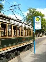 Woltersdorf Tw 2990/18116/tw-2990-an-der-haltestelle-schleuse Tw 2990 an der Haltestelle Schleuse, 23.5.2009