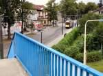 Woltersdorf Tw 2990/25437/tw-2990-von-der-schleusenbruecke-aus Tw 2990 von der Schleusenbrücke aus gesehenm Woltersdorf 11.7.2009
